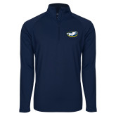 Sport Wick Stretch Navy 1/2 Zip Pullover-Mascot