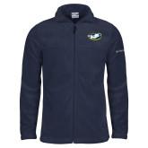 Columbia Full Zip Navy Fleece Jacket-Mascot