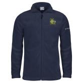 Columbia Full Zip Navy Fleece Jacket-La Salle L