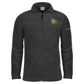 Columbia Full Zip Charcoal Fleece Jacket-La Salle L