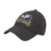Charcoal Twill Unstructured Low Profile Hat-Primary Mark