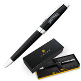 Cross Aventura Onyx Black Ballpoint Pen-La Salle  Engraved