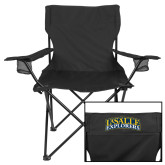 Deluxe Black Captains Chair-La Salle Explorers