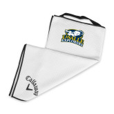 Callaway White Players Towel-Primary Mark