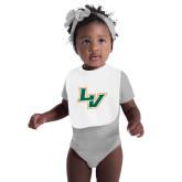 White Baby Bib-LV