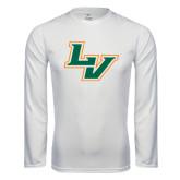 Performance White Longsleeve Shirt-LV