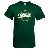Dark Green T Shirt-SCIAC Softball Champions