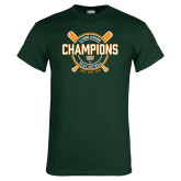 Dark Green T Shirt-2018 SCIAC Softball Champions