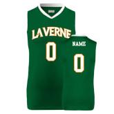 Replica Dark Green Adult Basketball Jersey-Personalized