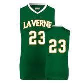 Replica Dark Green Adult Basketball Jersey-#23