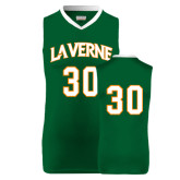 Replica Dark Green Adult Basketball Jersey-#30