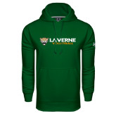Under Armour Dark Green Performance Sweats Team Hoodie-Volleyball