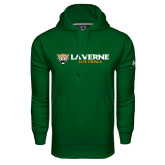 Under Armour Dark Green Performance Sweats Team Hoodie-Softball