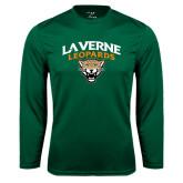 Syntrel Performance Dark Green Longsleeve Shirt-Official Logo