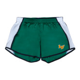 Ladies Dark Green/White Team Short-LV