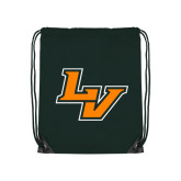 Dark Green Drawstring Backpack-LV