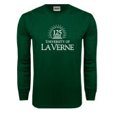 Dark Green Long Sleeve T Shirt-125th Anniversary
