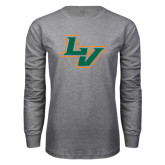 Grey Long Sleeve T Shirt-LV