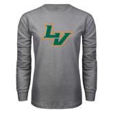 Grey Long Sleeve T Shirt-LV
