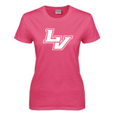 Ladies Fuchsia T Shirt-LV