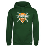 Russell DriPower Dark Green Fleece Hoodie-2018 SCIAC Baseball Champions
