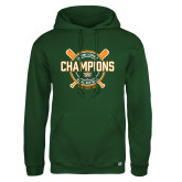 Russell DriPower Dark Green Fleece Hoodie-2018 SCIAC Softball Champions