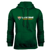 Dark Green Fleece Hood-Horizontal Mark