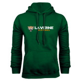 Dark Green Fleece Hood-Softball