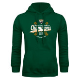 Dark Green Fleece Hood-SCIAC Softball Champions
