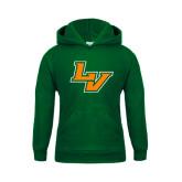 Youth Dark Green Fleece Hoodie-LV