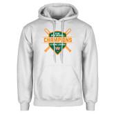 White Fleece Hoodie-2018 SCIAC Baseball Champions