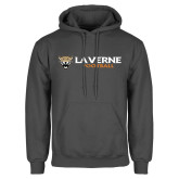 Charcoal Fleece Hoodie-Football