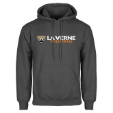 Charcoal Fleece Hoodie-Volleyball