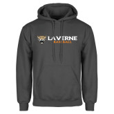 Charcoal Fleece Hoodie-Baseball