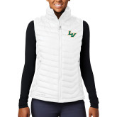 Columbia Lake 22 Ladies White Vest-LV