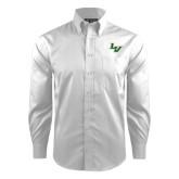 Red House White Dobby Long Sleeve Shirt-LV