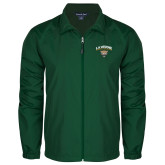 Full Zip Dark Green Wind Jacket-LVAA