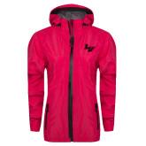 Ladies Dark Fuchsia Waterproof Jacket-LV