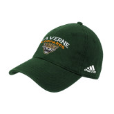 Adidas Dark Green Slouch Unstructured Low Profile Hat-Official Logo