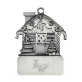 Pewter House Ornament-LV Engraved