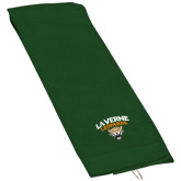 Dark Green Golf Towel-Official Logo