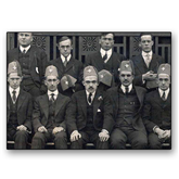 5 x 7 Photographic Print-Early Founders