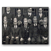 8 x 10 Photographic Print-Early Founders