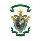 Medium Decal-Coat of Arms, 8 inches wide