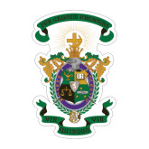 Large Decal-Coat of Arms, 12 inches wide