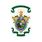 Small Decal-Coat of Arms, 6 inches wide