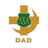 Dad Decal-Crescent Friendship Pin, 8 inches wide