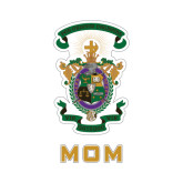Mom Decal-Coat of Arms, 8 inches wide