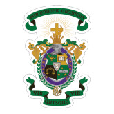 Extra Large Decal-Coat of Arms, 18 inches wide