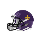 Riddell Replica Purple Mini Helmet-Crescent